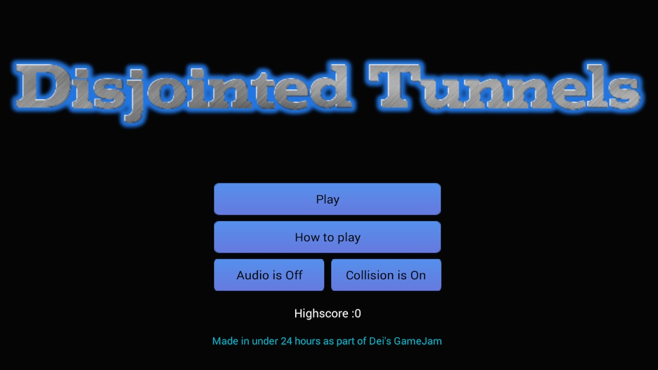 Disjointed Tunnels (Android & Ouya)