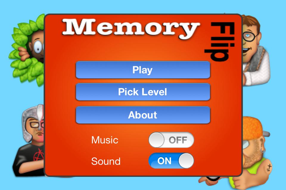 Memory Flip (iOS)